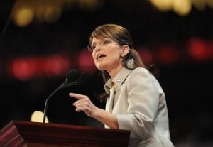 Sarah Palin at the 2008 Republican Convention